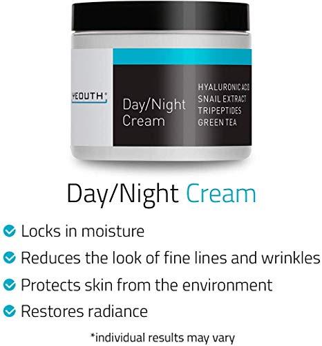 Crema Hidratante Facial de Día YEOUTH con Extracto de..